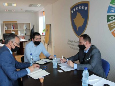 HERAS+ team meets the representatives of the Strategic Planning Office of Kosovo