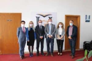 "HERAS Plus Team meets with the representatives of the University ""Fehmi Agani"" in Gjakova"