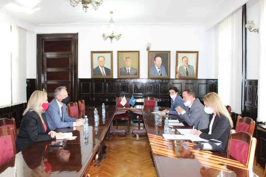 "Introductory meeting between 'HERAS Plus' Project and the University of Prishtina ""Hasan Prishtina"""