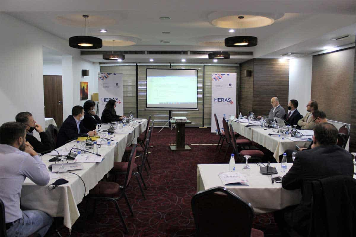 HERAS Plus is supporting the working group proceedings for the development of the new law for the Kosovo Accreditation Agency