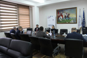 "HERAS Plus Project supports the University ""Kadri Zeka"" in Gjilan in their preparations for institutional accreditation"