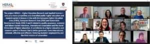 HERAS Plus Steering Board Meeting News