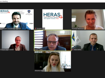 HERAS Plus and University of Prishtina agree to develop a roadmap for performance measurement in the field of the academic matters