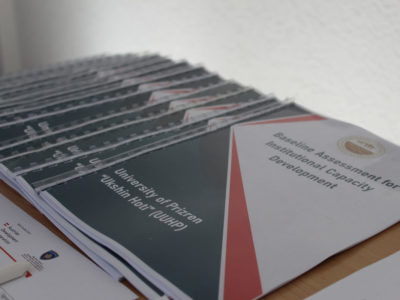 """The Baseline Assessment Report for the University """"Ukshn Hoti"""" in Prizren is launched"""