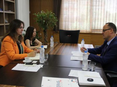 HERAS Plus meets with MESTI Minister Arberie Nagavci